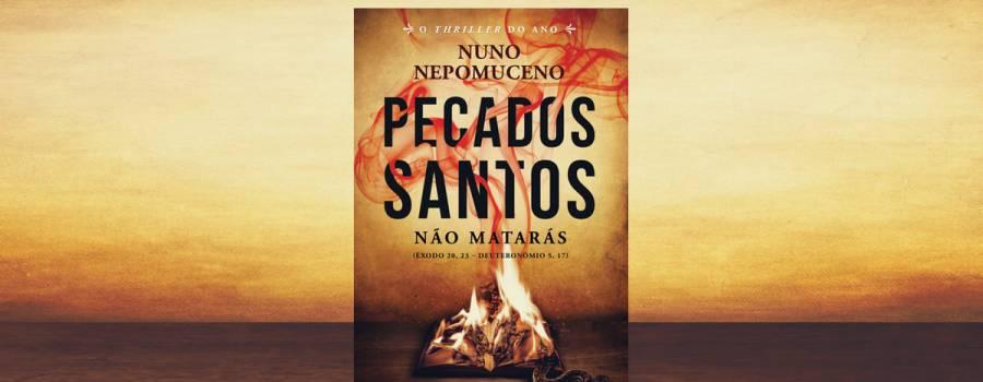 Pecados Santos – Novo livro chega às livrarias a 19 de janeiro!