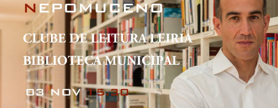 Na Biblioteca Municipal de Leiria a 3 de Novembro