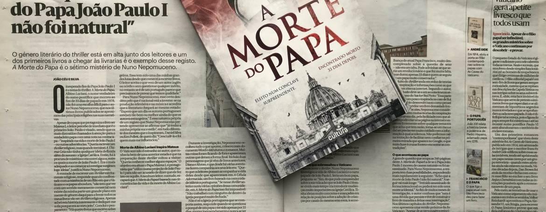 No Diário de Notícias, edição de fim de semana.