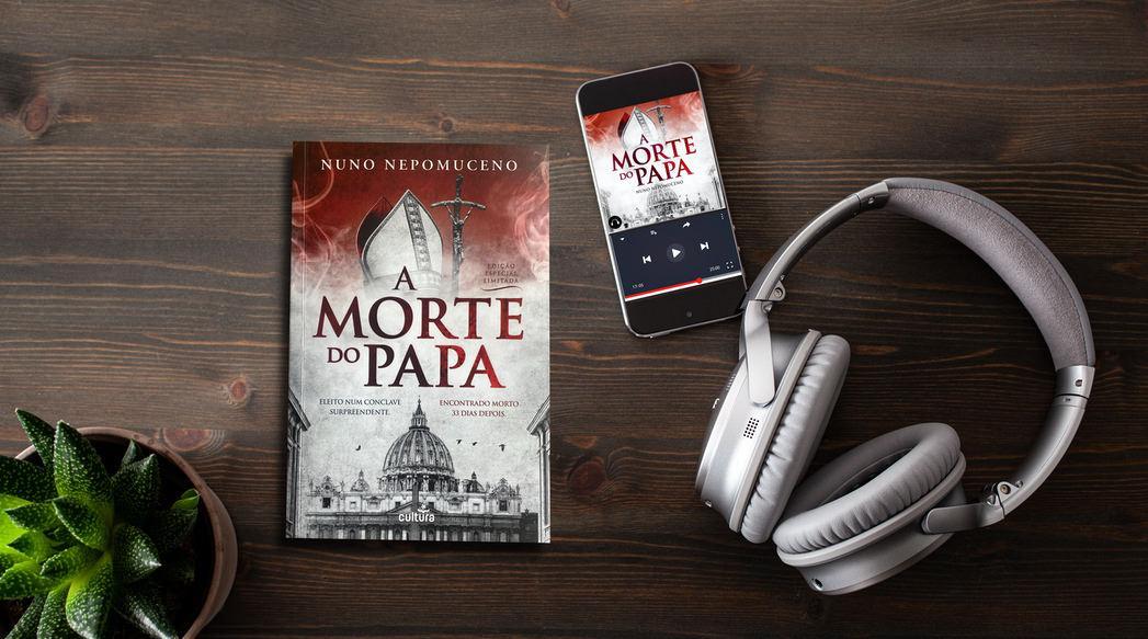 A Morte do Papa em audiolivro