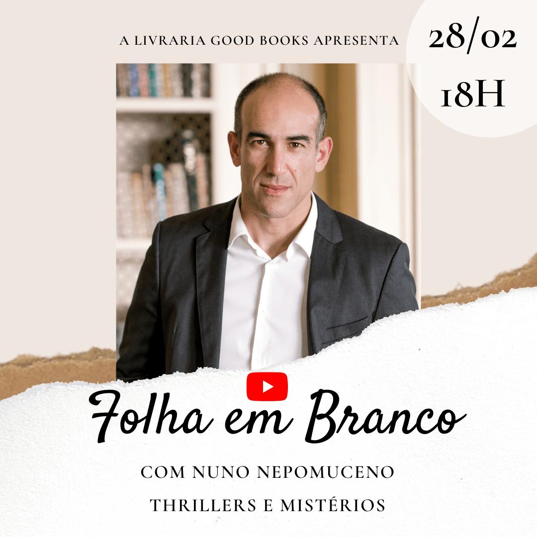 Folha em Branco – Live com a Livraria Good Books.