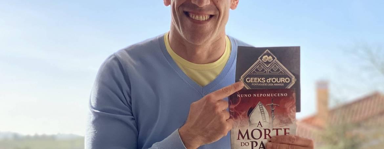 A Morte do Papa – Melhor Livro Geek Nacional.