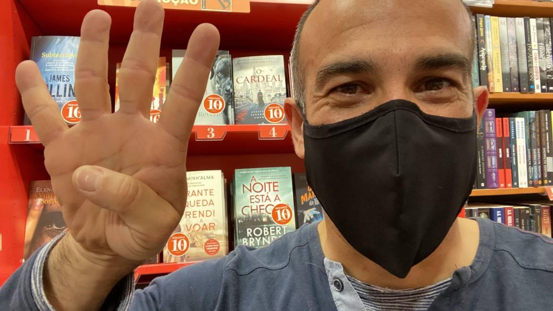 O Cardeal – Pela 6ª semana consecutiva no Top nacional de vendas das livrarias Bertrand.