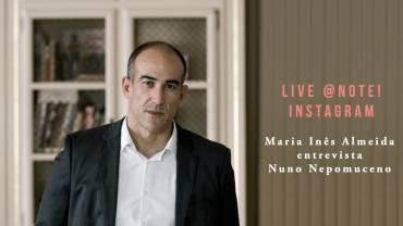 Live @ Note! Instagram, com Maria Inês de Almeida.