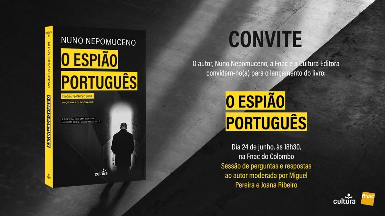 Lançamento nacional Edição de Colecionador O Espião Português