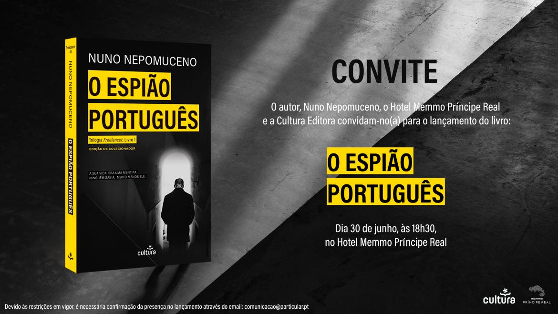 Lançamento nacional em Lisboa O Espião Português – A gravação.